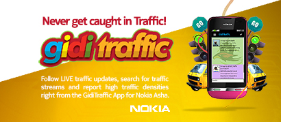 GidiTraffic App for Nokia Asha